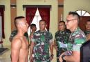 Sidang Parade Caba PK TNI AD Perbatasan