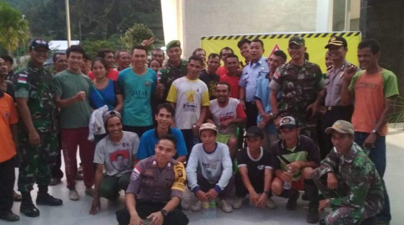 TNI Bersama Pihak Terkait Berhasil Pulangkan 9 WNI Kembali Ke Tanah Air