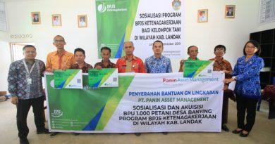 Masyarakat Desa Banying Mendapatkan Kartu Kepesertaan BPJS Ketenagakerjaan