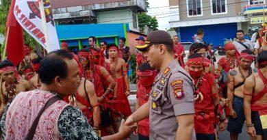 Demo Tuntut Pembebasan 6 Terdakwa Berjalan Kondusif