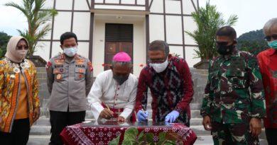 Rumah Retret Anjongan Diresmikan, Gubernur Sutarmidji: Titik Singgah Wisata Religi