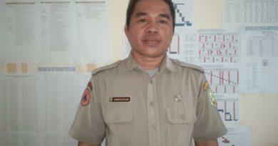 Kepala Seksi Pencegahan Bidang Pencegahan dan Kesiapsiagaan BPBD Kabupaten Sambas, Amiruddin, S.P