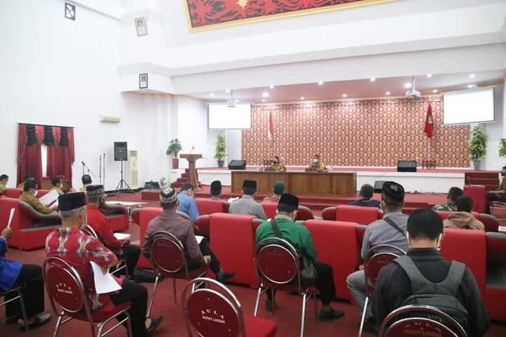 Bupati Landak Pimpin Sosialisasi Panduan Ibadah Ramadhan di Masa COVID-19