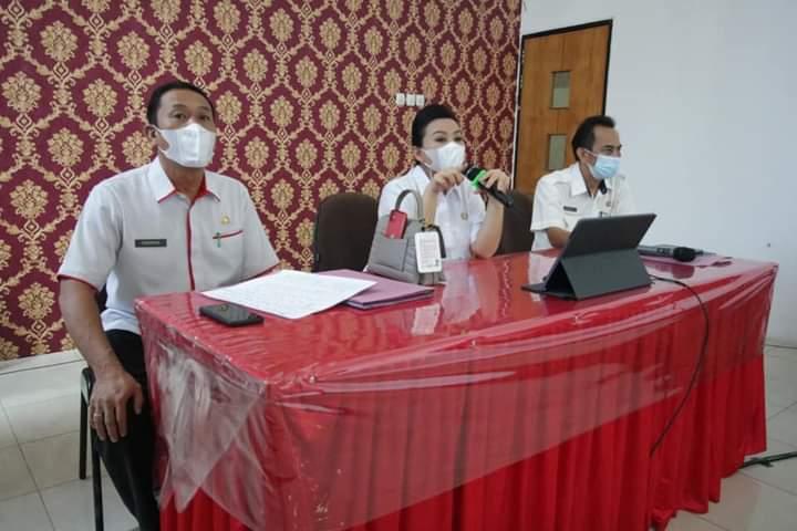 Rapat Bersama OPD, Bupati Landak Bahas Pemanfaatan Website