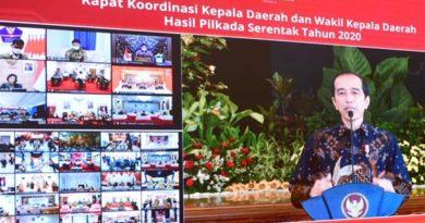 Presiden Kepada Kepala Daerah: Jabatan Adalah Kehormatan Sekaligus Tanggung Jawab Besar