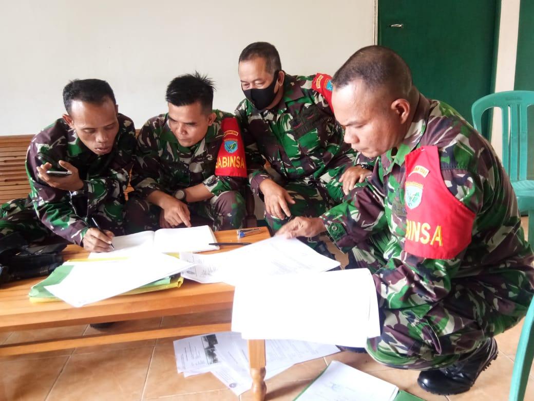 Danramil Sengah Temila Ingatkan Personel Selalu Asah Kemampuan Teritorial