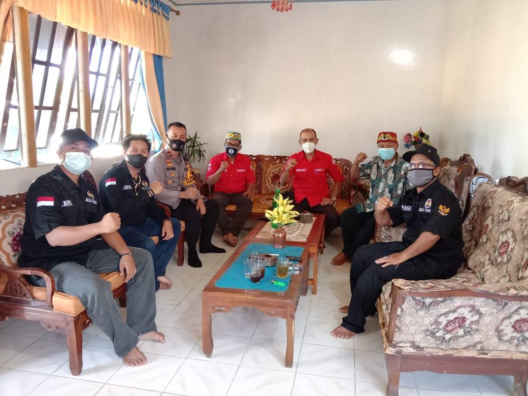 Bersama Camat, Kapolsek Sengah Temila Monitoring Ritual Adat Balala'