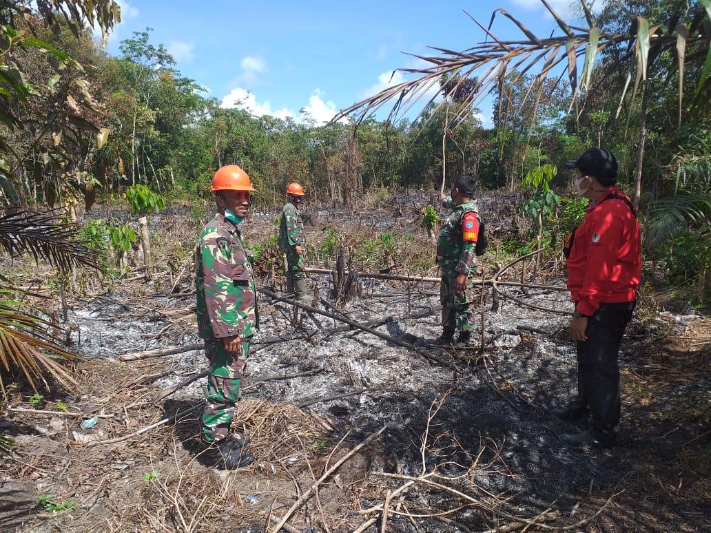 Personel Koramil Mandor Dikerahkan Cek Titik Panas di Desa Ngarak