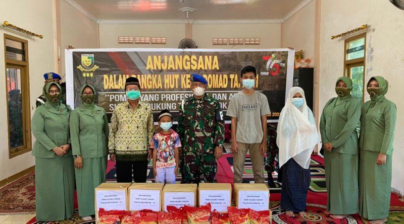 Adapun kegiatan anjangasana ini dipimpin langsung oleh Danpomdam XII/Tpr Kolonel Cpm Parlindungan Marpaung.