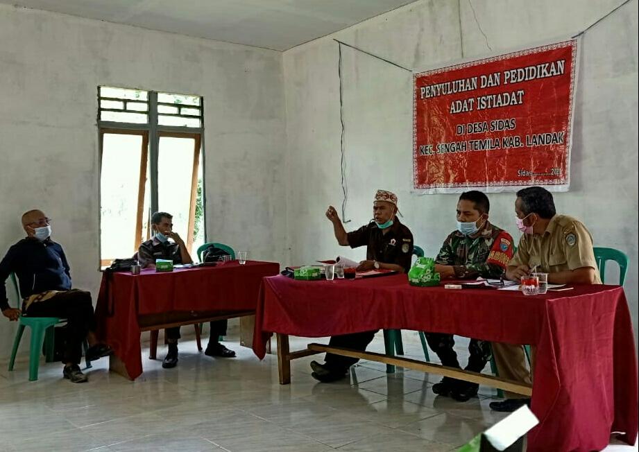 Timanggong Marabayank Desa Sidas Gelar Penyuluhan Hukum Adat