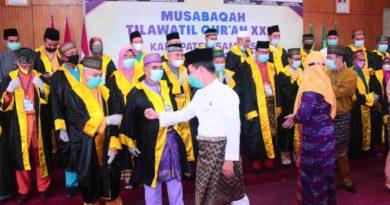 Pangdam XII Tanjung Pura hadiri Pembukaan MTQ XXX