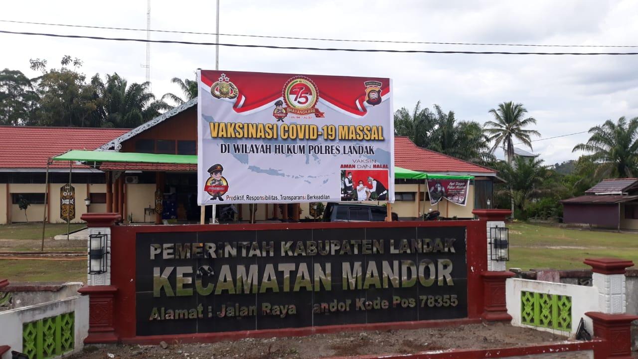 Kecamatan Mandor Siap Laksanakan Vaksinasi Massal Covid-19