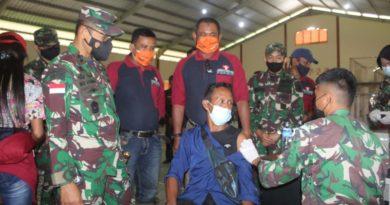 "Kepada masyarakat jangan takut divaksin dengan divaksin itu Indonesia akan kuat dan kita akan terbebas dari pandemi Covid-19,"" kata Bupati Kayong Utara Citra Duani."