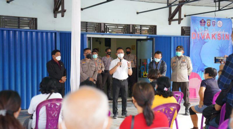 capaian vaksinasi Covid-19 di Kota Pontianak terus meningkat setiap harinya