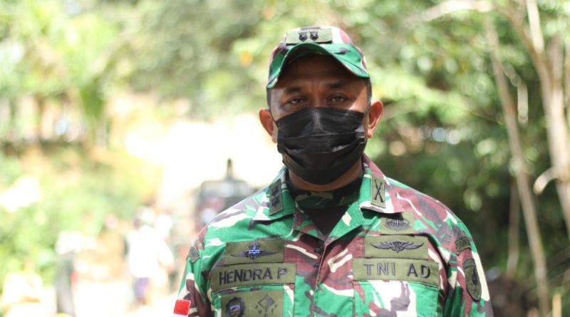 Kapendam XII/Tanjungpura Letnan Kolonel Infanteri Hendra Purwanasari