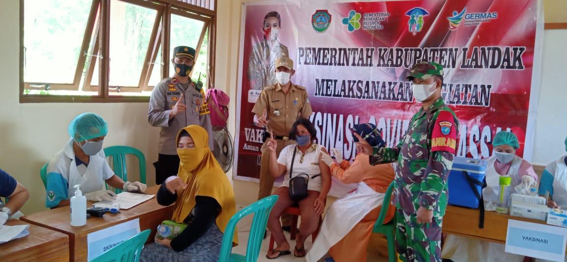 Kecamatan Sengah Temila Kembali Gelar Vaksinasi Massal