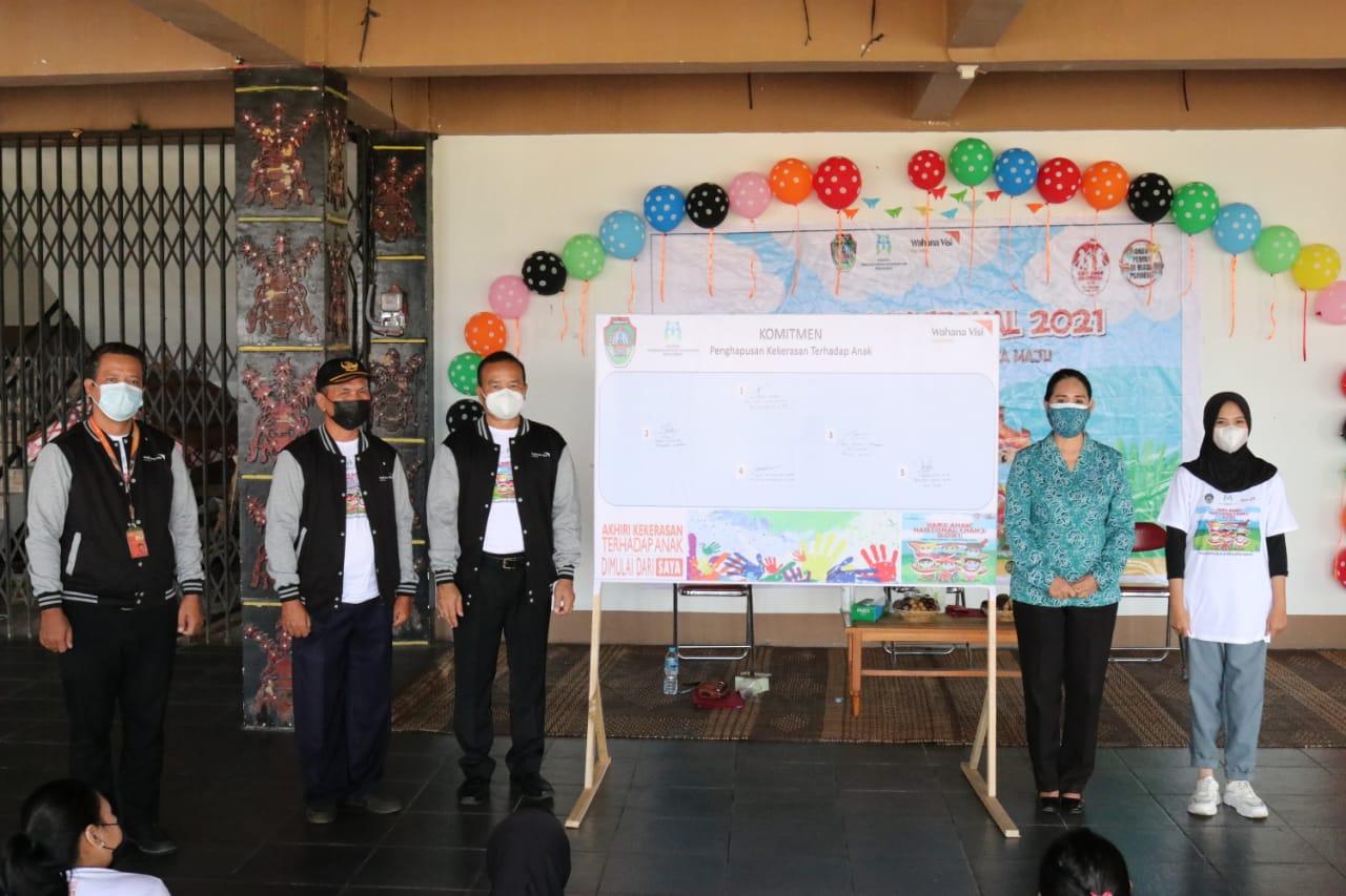 Hari Anak Nasional Tahun 2021, Momentum Gugah Kepedulian dan Partisipasi Komponen Bangsa