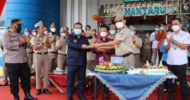 Ketua DPRD Landak Hadiri HUT UUPA Ke-61 di Kantor ATR/BPN Kabupaten Landak
