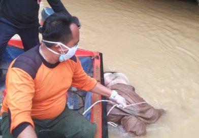 Hari Ke 5 Korban Tenggelam di Sungai Belantiant Muncul Kepermukaan, Setelah Tercium Aroma Menyengat 500 Meter dari Titik  Awal  Tenggelam
