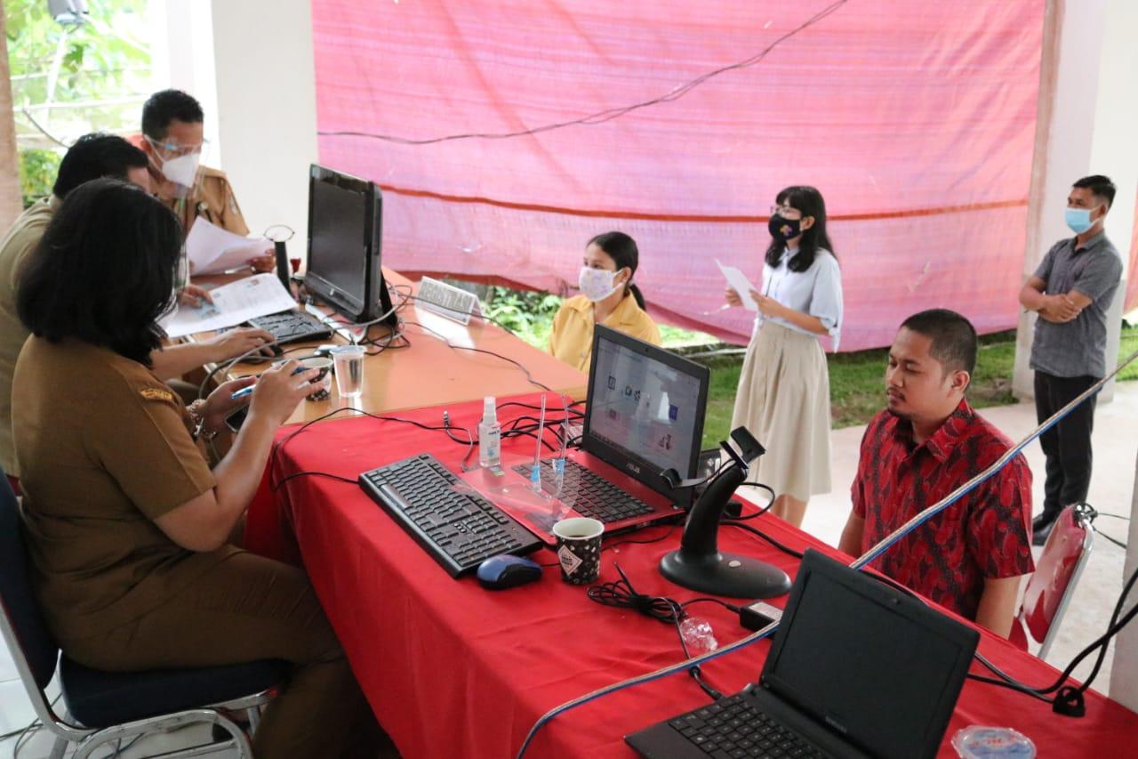 Tes CPNS Hari Pertama di Kabupaten Landak Berjalan Tanpa Kendala