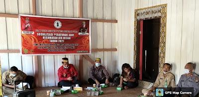 Ketua DAD Landak Apresiasi DAD Kecamatan Air Besar Dalam Membuat PERDAD