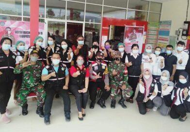 Vaksinasi Serentak Di-2 Kecamatan, 15 Babinsa Dikerahkan