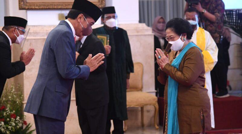Presiden Jokowi Lantik Dewan Pengarah Badan Riset dan Inovasi Nasional, Megawati Soekarnoputri Sebagai Ketua Dewan Pengarah