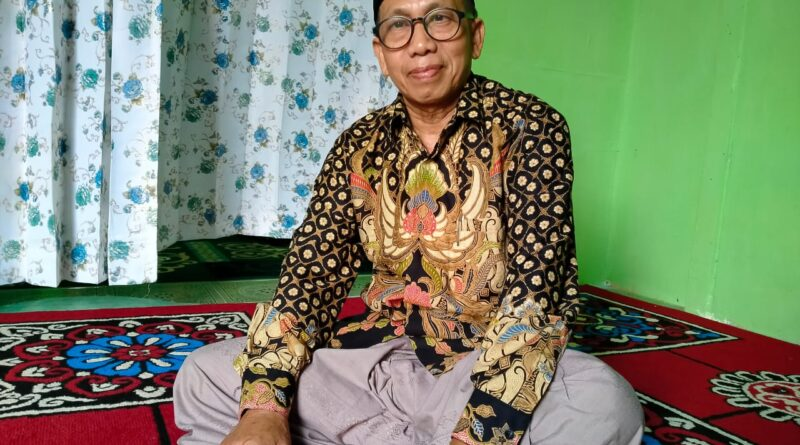 Ketua PCNU Kabupaten Landak KH. Ahmad Fauzie HIB